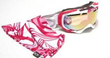 New Oakley Elevate Breast Cancer Awareness Goggles White/VR50 Pink Iridium $180