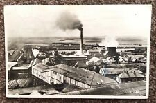 1950 Ashington Colliery Northumberland Superb RP Postcard Valentine's