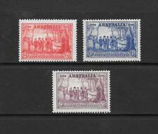 1937 King George VI  SG193 to SG195 150th Anniv. NSW Set MNH Unmounted AUSTRALIA