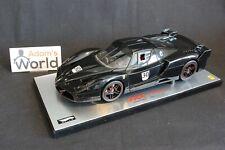 Hot Wheels Super Elite Ferrari FXX 1:18 black #30 Michael Schumacher (PJBB)