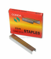 4x Standard (23/8) Good Quality Staples 1000 Count per box for Office Home 4 Box