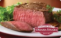 Omaha Steaks Gift Card - $25 $50 $100 - Email delivery