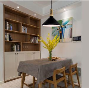 Modern Pendant Light Bar Black Chandelier Lighting KitchenOffice Ceiling Lights