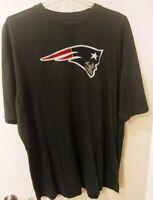 New England Patriots Mens Plus Size NFL Team Apparel Logo T-Shirt New 4XL