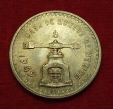 Mexico - (1)- 1949 Onza- Casa De Moneda .925 Silver- About Uncirculated - Rare!