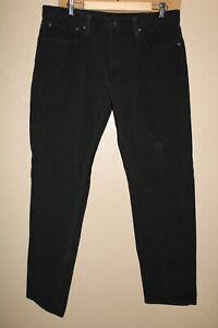 """Levi's 502 Hommes 36 """" W 34 """" L Cordon / Velours Pantalon Combiner Envoi Remise"""