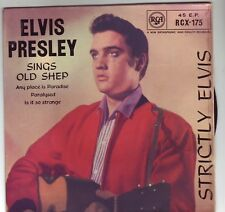 ELVIS PRESLEY STRICTLY ELVIS 1959 ROUND CENTER EP RARE