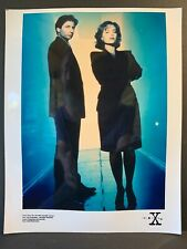 X-Files Creation Colour 10x8 Photo - Mulder DUCHOVNEY & Scully ANDERSON - A