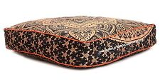 Ombre Mandala Extra Large Floor Cushion Pillow Cover Square Pet Dog Bed Cover
