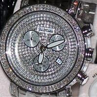 New Authentic Mens Joe Rodeo Classic Jcl15 180 Pcs.&  1.75 ct.aprx.Diamond Watch