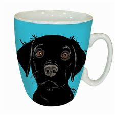 Black Labrador Mug -Boxed - A Great Gift for a Labrador Dog Lover - FREE P&P