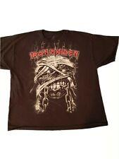 Vintage Iron Maiden T Shirt  Men's Size 2XL  Heavy Metal Perfect Condition