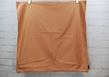 Pair of BLISSLIVING Paris Collection EURO PILLOW SHAMS 100% Cotton Light Brown
