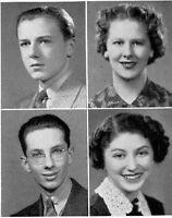 1938 Chicago Senn High School Yearbook~Photos~History~Football~Baseball~WWII~++
