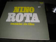 SOUNDTRACK LP NINO ROTA MUSICHE DA FILM ON CAM '73 NM OST rare italy