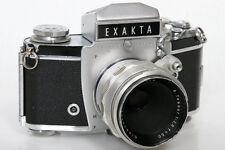 Exakta VX IIa 903959 35mm Camera With Tessar 50mm f2.8 Lens