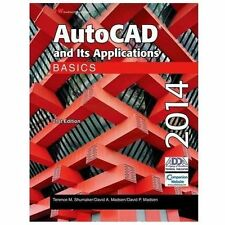 AutoCAD and Its Applications Basics 2014 by David P. Madsen, David A. Madsen and