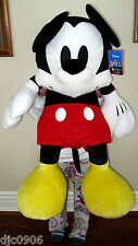 "Walt Disney 32"" Jumbo Mickey Mouse Plush Stuffed Animal Toy-New with Tags!"