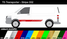 VW Transporter T4 T5 - x 2 Side Stripe - Stickers / Autocollants / Graphics ref002