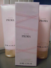 New! Avon Prima Eau De Parfume Spray with Free Prima Shower Gel and Body Lotion