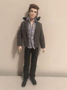 Barbie Ken Doll As Edward Cullen Twilight Saga Film Doll Pink Label Collector