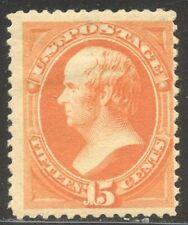 U.S. #189 Mint - 15c Orange ($180)