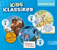 DER GRÜFFELO/PETTERSSON UND FINDUS/WEIßT DU EIGENT-KIDS KLASSIKER-BOX  3 CD NEU