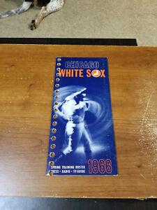 1966 CHICAGO WHITE SOX BASEBALL PRESS MEDIA GUIDE