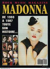 MADONNA - ROCK MUSIC MAGAZINE - MADONNA DE 1959 A 1987