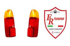 COPPIA PLASTICHE FANALI/FARO POSTERIORI FIAT 500 GIARD