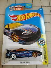 Hot Wheels Toyota Supra Black HW Speed Graphics 2/10