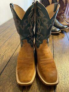 lucchese men's boots 10.5 d