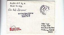 2002 TURKEY ARMY UNO MISSION in ZENICA BOSNIA letter to ANKARA-g638
