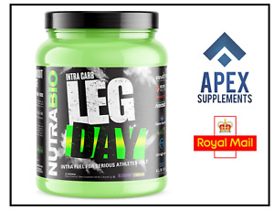 NutraBio Labs Leg Day - High Performance Intra Workout Formula (20 Servings)