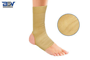 2 Ankle Brace Compression Support- Ankle Wrap for Sprain,Tendiniti, Skin, 1 Pair