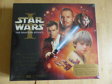 STAR WARS episode 1 PHANTOM MENACE VHS ntsc COLLECTORS BOX SET - sealed NEW