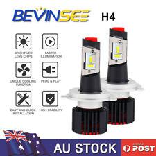 H4 LED Headlight Globe Lamp White 6000LM for Nissan NavaraTiida Patrol Pulsar