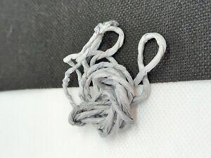 Thomas Sabo Grey Ribbon Cord Tie Wrap Bracelet Strap Necklace 100cm