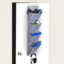 Hanging Wall Organizer Door Fabric Pockets Easy Organization Hanger Home Office