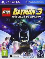 LEGO BATMAN 3 MÁS ALLÁ DE GOTHAM EN CASTELLANO NUEVO PRECINTADO PS VITA