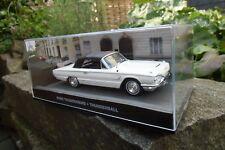 007 JAMES BOND - Ford Thunderbird - 1:43 BOXED CAR MODEL - Thunderball