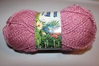 NEW Patons Jenny Mauve Pink Acrylic Nylon 50 g Yarn Made Canada Color 006 6038