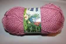 NEW Patons Jenny Mauve Pink Acrylic Nylon 50g Yarn Made Canada Color 006 6038