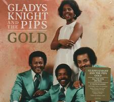 GLADYS KNIGHT & THE PIPS - GOLD - 3 CDS - NEW!!