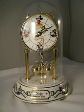 Disney Mantle Dome Clock Mickey Mouse Through The Years