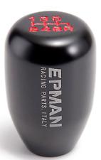 EPMAN Black Universal 6speed gear knob Honda CIVIC INTEGRA EP3/FN2/TYPE R Skunk2