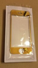 24ct Gold Plated Hard Glass Protection Film Cover for iPhone 5 5C & 5S 5SE
