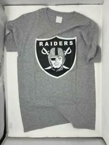 Las Vegas Raiders T-Shirt Gray S Small Graphic Oakland