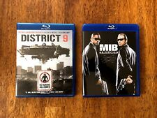 Men In Black Trilogy (3 Movies) [Blu-ray] & District 9 [Blu-ray]