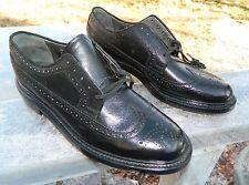 Sears Wingtip Brogue Dress Shoes / US Men size: 10 1/2 D / Deadstock Condition